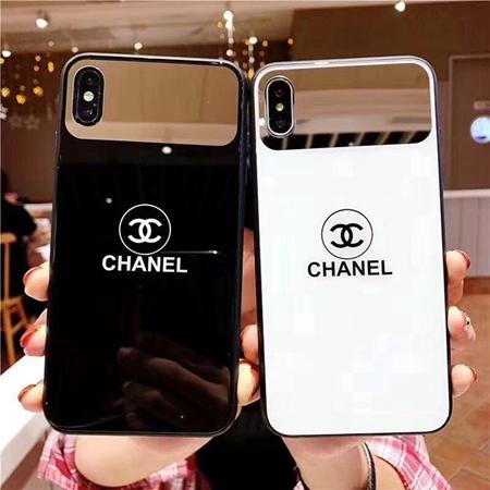 シャネル iPhoneXs maxガラスケース