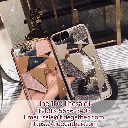 スワロフスキー iphoneXS MAXカバー 透明感