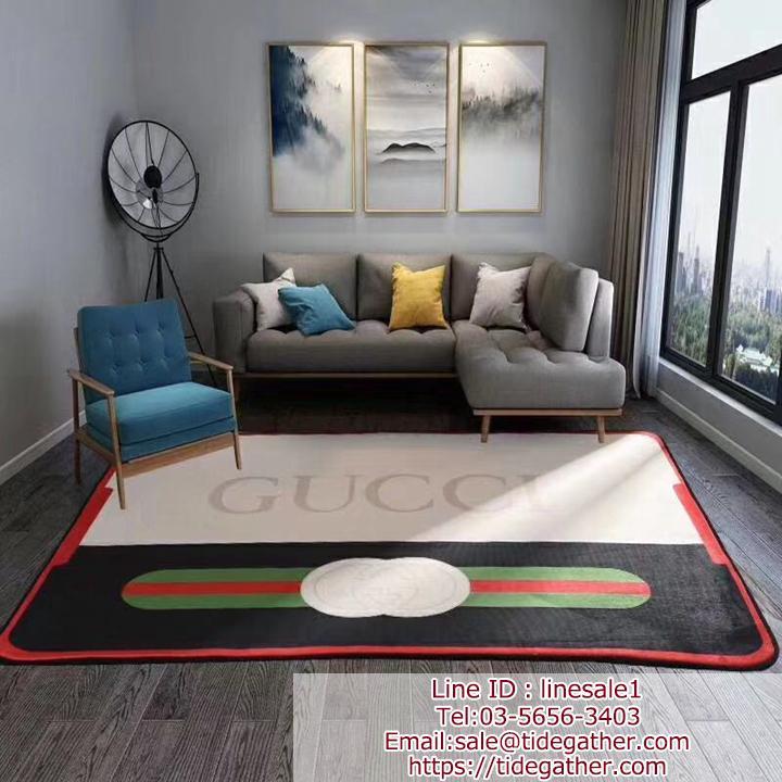 GUCCI ラグマット/キッチンマット 絨毯