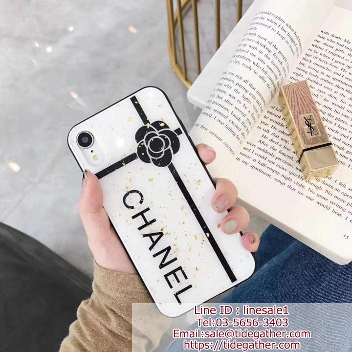 Chanel iPhoneXR XSカバー 可愛い