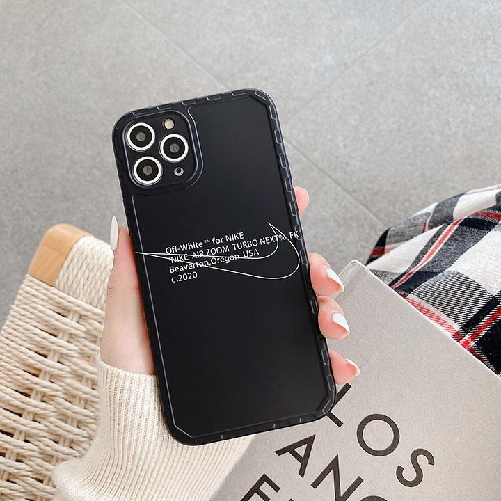 オフホワイト iPhone12カバー