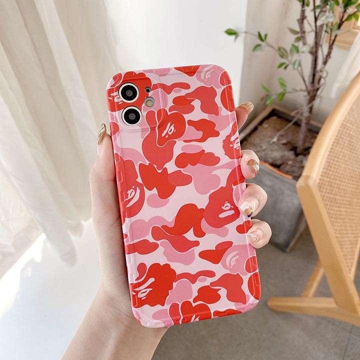 可愛い風アイフォン 12 mini携帯ケースア・ベイシング・エイプ
